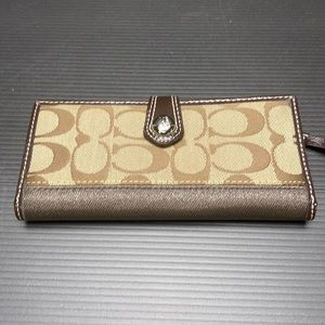 Coach Wallet and Credit Card Holder